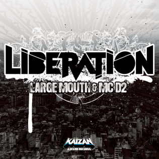 【CDジャケット】LARGE MOUTH & MC D2「LIBERATION」
