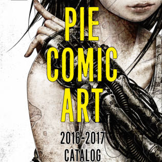 PIE COMIC ART [ 2016-2017 CATALOG ]