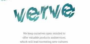 「verve」ウェブサイト