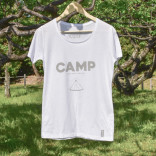 CAMP T-shirts [ woman / white ]