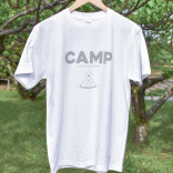 CAMP T-shirts [ men / white ]