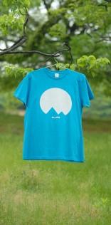 「Mt.JPNオリジナルロゴTシャツ」ターコイズ