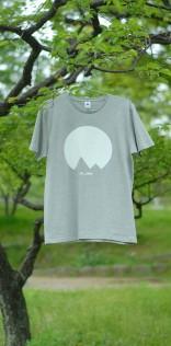 「Mt.JPNオリジナルロゴTシャツ」ヘザーグレー