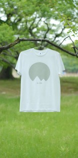 「Mt.JPNオリジナルロゴTシャツ」ホワイト