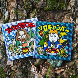 Mt.JPN「ソロキャンパー」シール