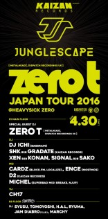 KAIZAN RECORD presents ZERO T JAPAN TOUR 2016
