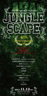 クラブイベント「JUNGLE SCAPE(11/11/13)」