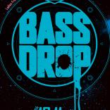 クラブイベントフライヤー「HANGOVER presents BASS DROP」
