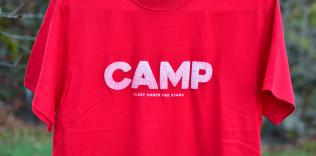 Mt.JPN「CAMP」Tシャツ(発泡インク)
